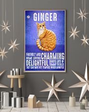 Ginger Cat Vintage Poster 11x17 Poster lifestyle-holiday-poster-1