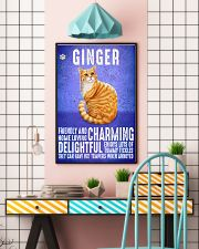 Ginger Cat Vintage Poster 11x17 Poster lifestyle-poster-6