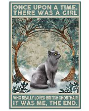 British Shorthair Once Upon A Time 11x17 Poster front