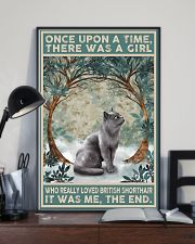 British Shorthair Once Upon A Time 11x17 Poster lifestyle-poster-2