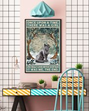 British Shorthair Once Upon A Time 11x17 Poster lifestyle-poster-6