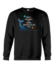 Mermaid - Sometimes They Have Tails Crewneck Sweatshirt thumbnail
