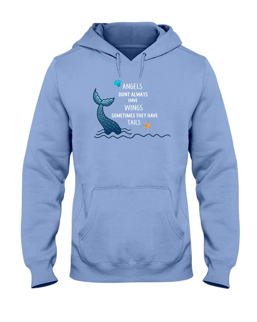Mermaid - Sometimes They Have Tails Hooded Sweatshirt
