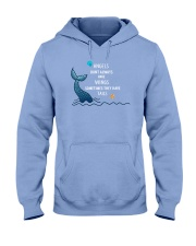 Mermaid - Sometimes They Have Tails Hooded Sweatshirt front