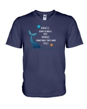 Mermaid - Sometimes They Have Tails V-Neck T-Shirt thumbnail