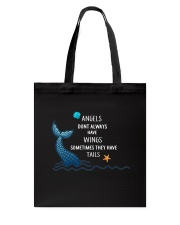 Mermaid - Sometimes They Have Tails Tote Bag thumbnail
