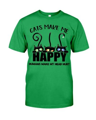 Cat Cats Make Me Happy