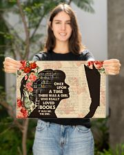Books Once Upon A Time There Was A Girl Poster 17x11 Poster poster-landscape-17x11-lifestyle-19