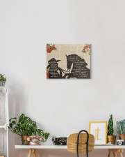 Horse You Are Not A Horse Canvas 14x11 Gallery Wrapped Canvas Prints aos-canvas-pgw-14x11-lifestyle-front-03