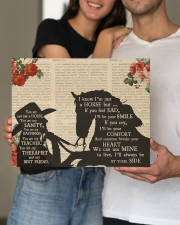 Horse You Are Not A Horse Canvas 14x11 Gallery Wrapped Canvas Prints aos-canvas-pgw-14x11-lifestyle-front-32