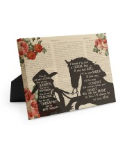Horse You Are Not A Horse Canvas Easel-Back Gallery Wrapped Canvas tile