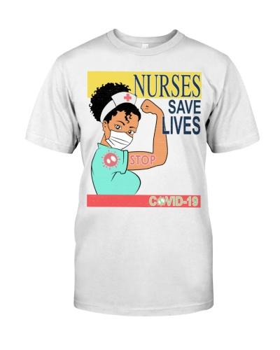 Nurses Save Life Brown