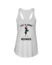 Be A Mermaid Ladies Flowy Tank thumbnail