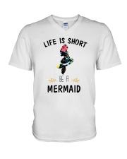 Be A Mermaid V-Neck T-Shirt thumbnail