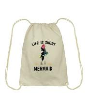 Be A Mermaid Drawstring Bag thumbnail