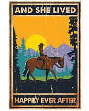 Horse And She Lived Horse Montana 11x17 Poster front