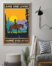 Horse And She Lived Horse Montana 11x17 Poster lifestyle-poster-1