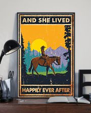 Horse And She Lived Horse Montana 11x17 Poster lifestyle-poster-2