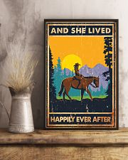 Horse And She Lived Horse Montana 11x17 Poster lifestyle-poster-3