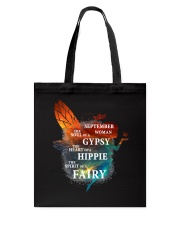 I am a September Woman Tote Bag front