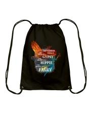 I am a September Woman Drawstring Bag front