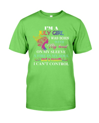 I'm a July Girl