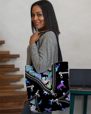 HORSE BEAUTY HORSE TOTE BAG All-over Tote aos-all-over-tote-lifestyle-front-08