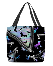 HORSE BEAUTY HORSE TOTE BAG All-over Tote back