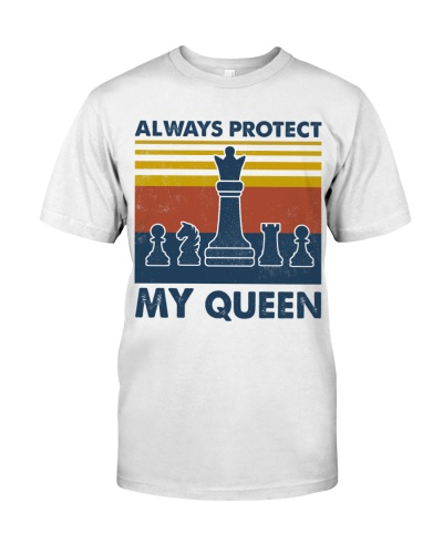 Family Trust And Protect Couple Shirt Queen