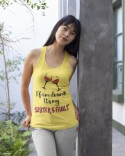 Wine Sister Fault Ladies Flowy Tank apparel-ladies-flowy-tank-lifestyle-front-25