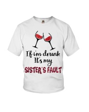 Wine Sister Fault Youth T-Shirt thumbnail