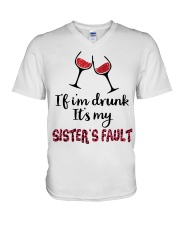 Wine Sister Fault V-Neck T-Shirt thumbnail