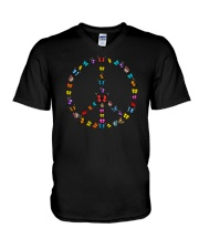Butterfly In My Dream For Life V-Neck T-Shirt thumbnail