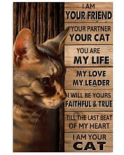 Cat I Am Your Friend Poster 11x17 Poster front