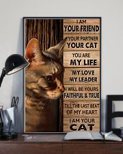 Cat I Am Your Friend Poster 11x17 Poster lifestyle-poster-2