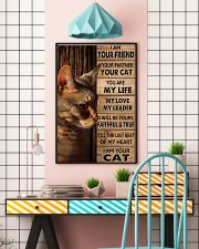 Cat I Am Your Friend Poster 11x17 Poster lifestyle-poster-6