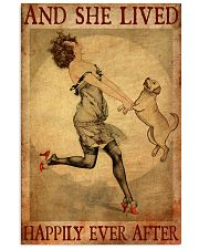 Gold Labrador And She Lived Happily Ever After 11x17 Poster front