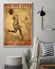 Gold Labrador And She Lived Happily Ever After 11x17 Poster lifestyle-poster-1