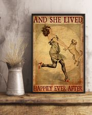 Gold Labrador And She Lived Happily Ever After 11x17 Poster lifestyle-poster-3