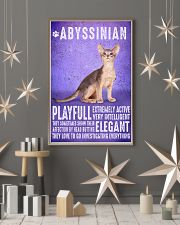 Abyssinian Cat Vintage Poster 11x17 Poster lifestyle-holiday-poster-1