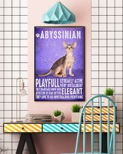 Abyssinian Cat Vintage Poster 11x17 Poster lifestyle-poster-6