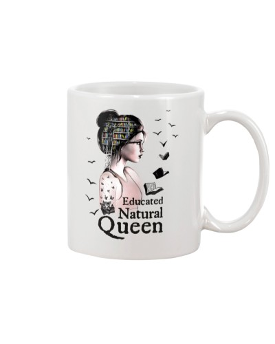 Book Educated Natural Queen White Girl