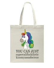 Unicorn You Can Just Tote Bag thumbnail