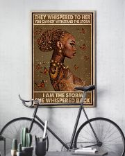BLACK I AM THE STORM 11x17 Poster lifestyle-poster-7
