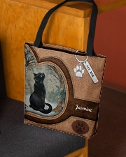 Cat Once Upon A Time Tote Bag All-over Tote aos-all-over-tote-lifestyle-front-02