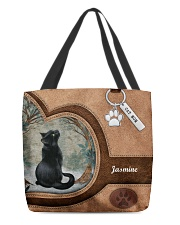 Cat Once Upon A Time Tote Bag All-over Tote back