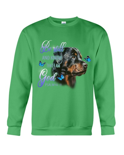 Rottweiler Be Still And Know That I Am God