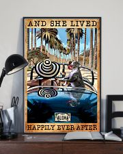 Happily Pit Bull On The Car 11x17 Poster lifestyle-poster-2