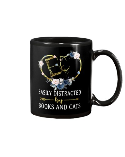 Book Easily Distracted By Books And Cats
