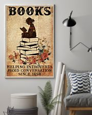 BOOK READING BOOKS HELPING INTROVERTS AVOID 11x17 Poster lifestyle-poster-1